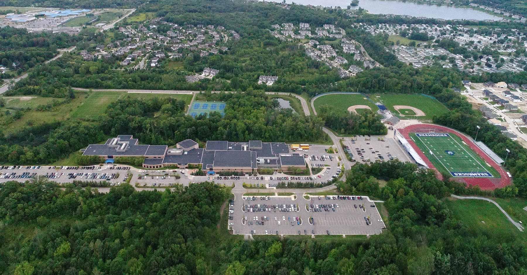 detroit catholic central high school in novi  mi